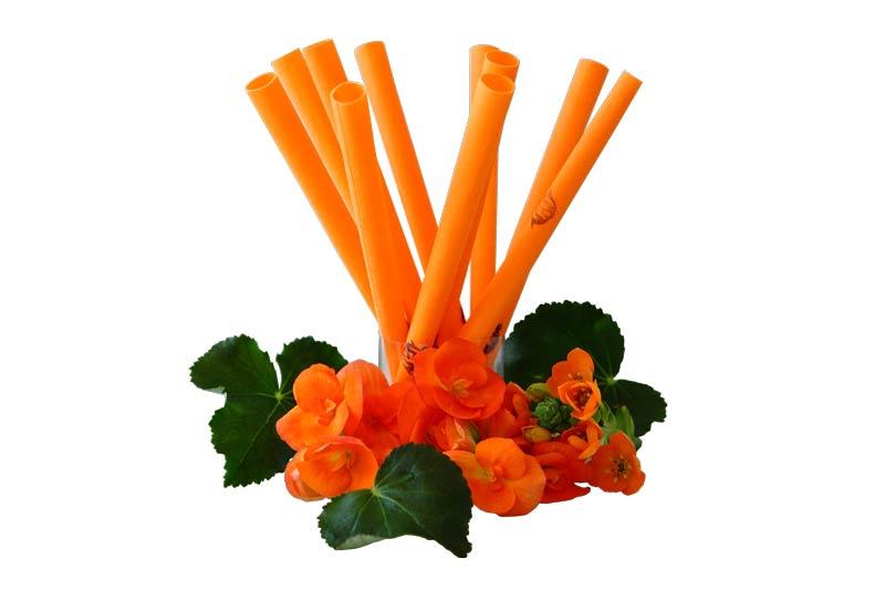 IL-DO® Körperkerzen orange